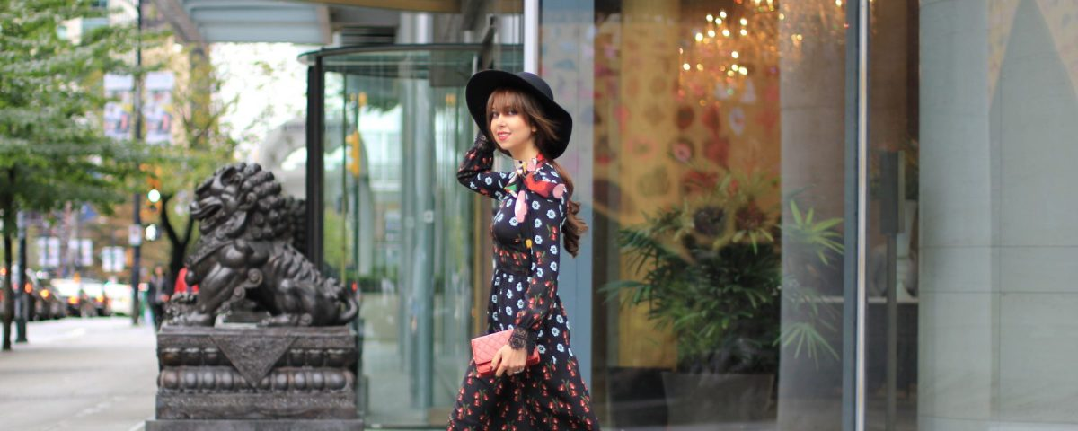 Fall into Autumn with the perfect floraldress